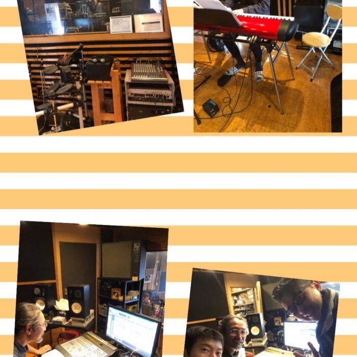 初レコーディングスタジオ