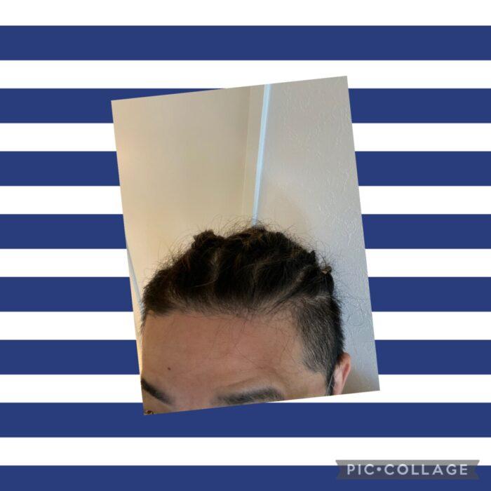 新・髪上げ?!